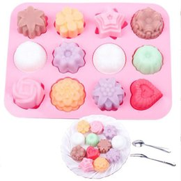 Candy Making Tools Australia - Cake Baking Mould Silicone Soap Mold 3D Chocolate Supplies Baking Pan Tray Molds Candy Making Tool DIY Jelly