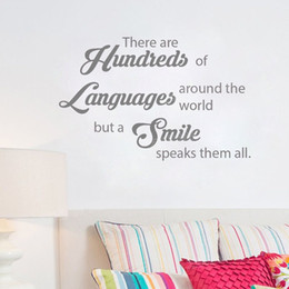 $enCountryForm.capitalKeyWord Australia - Smile Quote Viny Wall Decals for Bathroom Kids Room Stomatology Wall Stickers Dental Clinic Wall Decor Murals Tooth Care