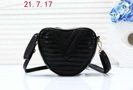 Heart Shaped Red Handbag Australia - 2019 New Style High Quality Womens Fashion Women Leather Soho Bag Disco Shoulder Bag Purse Heart-shaped HANDBAGS Zipper message bags m302018