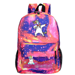 $enCountryForm.capitalKeyWord Australia - Free DHL 2019 Unicorn Backpacks Kids Laptop Backpack 40 Styles Children School Bookbags for Girls Elementary Lightweight Casual Bags M197F