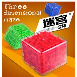 Labyrinth Games Australia - Cross-border children's educational labyrinth ball toy Adult decompression puzzle game 3D ball-shaped three-dimensional labyrinth