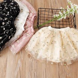$enCountryForm.capitalKeyWord Australia - 4 Colors Little Girls Tutu Skirt Princess Gauzy Skirt Flower Designs Mini Lovely Children Girls Ruffles Party Dresses Children Clothes