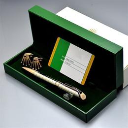Quality Metal Pens Australia - high quality Silver   Black Metal ballpoint pen + top grade Gift pen box with card + fashion Men shirt Cufflink For birthday Gift
