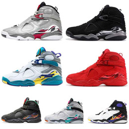 media pack NZ - 2019 jumpman 8 mens basketball shoes Tinker Raid Countdown Pack 8s Valentines day 3Peat men Reflective Bugs Bunny trainers designer shoes