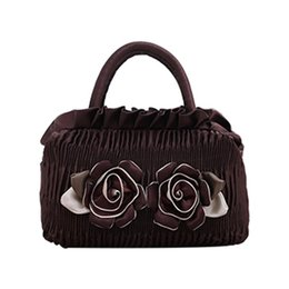$enCountryForm.capitalKeyWord Australia - 2019 New Casual Canvas Bag Lace Handbag Fashion Flower Decor Portable Casual Handbag Top Handle For Women Ladies Girls