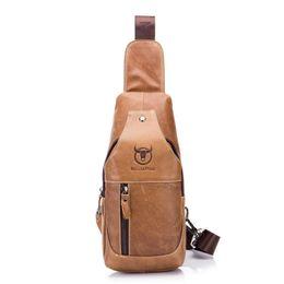 $enCountryForm.capitalKeyWord Australia - Famous Brand Men'S Genuine Leather Crossbody Bags Diy Men'S Shoulder Messenger Casual Sling Bag Mens Vintage Chest Pack Pouch