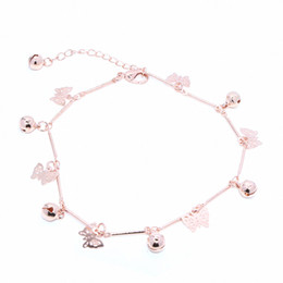$enCountryForm.capitalKeyWord Australia - 3pcs Wholesale Foreign Trade Simple Beach Ladies Anklet Foot Accessories Metal Chain Trend Fashion butterfly Female Feet Bare Chain