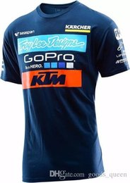 Toptan satış Erkekler Casual KTM Motosiklet Tişörtlü Jersey Kısa Kollu Havayolu Jersey Motokros DH İniş MX MTB Nefes Off-Road XXL 005