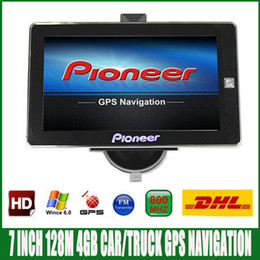 Gps Car Navigation Europe Map Australia - Free DHL shipping 7 inch HD Car truck GPS Navigation FM 4GB 128M DDR 800MHZ Newest Map for Russia Spainish  Europe USA navigator