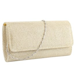hard glitter UK - Women Evening Bag Party Banquet Glitter Bag For Women Girls Wedding Clutches Handbag Chain Shoulder Bolsas Mujer
