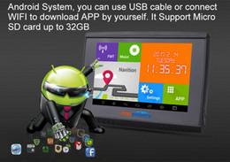 5' Gps Australia - 5'' Android GPS Motorcycle Car Bluetooth Navigation 4.4 WIFI 512M 8GB Flash+Maps