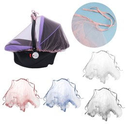 gauze car UK - Baby Carriers Car Seats Cover Infant Mosquito Net Bug Insect Protector Netting DXAD