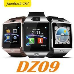 $enCountryForm.capitalKeyWord Australia - DZ09 Bluetooth Smart Watch Support SIM TF Card Wrist Watch Camera Anti-lost Wearable Q18 GT08 Smart Watch For IOS Android Phone Retail Box