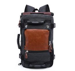 $enCountryForm.capitalKeyWord Australia - Large Capacity Function Travel Canvas Backpack Male Waterproof Computer Causal Men Women Backpacks Duffel Shoulder Bags