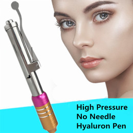 $enCountryForm.capitalKeyWord Canada - Hottest Atomizer Hyaluronic Acid Mesotherapy Pen Skin Care Device High Pressure Hyaluron Gun Needle Free Injection Pens for Anti Wrinkle