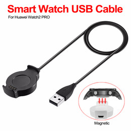 $enCountryForm.capitalKeyWord Australia - USB Charging Cable Charger Dock Station Base Charger for HUAWEI Watch 2 Smart Watch Chargers USB Charging Cables