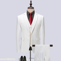 $enCountryForm.capitalKeyWord Australia - Custom made 2018 Brand Mens Suits Wedding Groom Plus Size 3 Pieces(Jacket+Vest+Pant) Slim Fit Tuxedo Suit Male 7XL 8XL 9XL 10XL