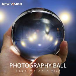 Clear Balls Australia - 6 7 8 9 10cm Photography Crystal Lens Ball Asian Quartz Clear Creative Shooting Glass Ball w  Portable Bag for Photo Shooting