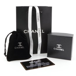 Luxus Halsketten Beutel Schmuck Mode Design Ohrring Box Marke Schwarz Verpackung Schmuck Geburtstagsgeschenke Ornament Boxen im Angebot