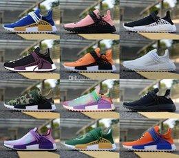 $enCountryForm.capitalKeyWord NZ - 2019 Cheap Human Race Pharrell Williams Men S & Women S Mc Tie Dye Solar Pack Mother Designer Fashion Sport Shoes