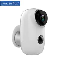 $enCountryForm.capitalKeyWord Australia - Fealushon D1 100% Wire-Free Battery IP Camera Outdoor Wireless Weatherproof Security WiFi Camera CCTV Surveillance Smart Alarm