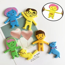 $enCountryForm.capitalKeyWord Australia - Stretchable creative decompression toy Family Set Expression Vent the doll Soft glue,for Relaxing Therapy Good for Stress Relief for Kids
