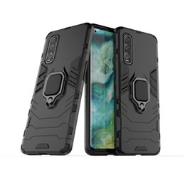 findings for rings Canada - For OPPO FIND X2 Shockproof PC + TPU Protective Case with Magnetic Ring Holder