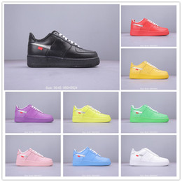 Size warrior online shopping - 2019 New Mens Forced Running Shoes For White Black Blue Warrior Sport Skateboard Shoes Forced One Low Womens Designers Sneakers Size