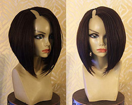 $enCountryForm.capitalKeyWord NZ - U Part BOB Human Hair Wigs Brazilian Virgin Hair BOB Short U Part Lace Wigs Small Medim Large Size 8-16 inch