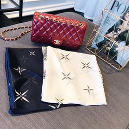 Scarf Air NZ - Fashion scarf summer ladies new print dual-use air conditioning cape beach towel fashion clothing accessories size 180x90cm