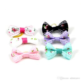 $enCountryForm.capitalKeyWord Australia - dog bows pet hair bows dog hair accessories grooming products Cute Gift 50 pcs lot
