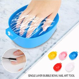 manicure bowls NZ - Nail Art Hand Wash Remover Soak Bowl DIY Salon Nail Spa Bath Treatment Manicure Tool DIY Salon Bath Manicure Tools