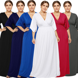 Sexy Dressing Pregnant Australia - 2019 Sexy Pregnant Women's Dresses Spring Summer New American European Style Extra Size Party Dresses Fat Women Dresses