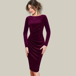 $enCountryForm.capitalKeyWord UK - 2019 new plus velvet fold size draped round neck autumn and winter long-sleeved dress Women Summer Short Sleeve T-Shirt Tops Stripes Casual