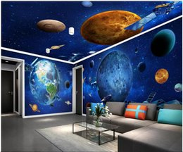 housing homes Australia - 3d wallpaer custom mural photo Cosmic Galaxy Earth landscape full house background wall home decor living room wallpaper for walls 3 d