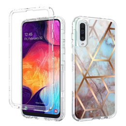 Heavy duty cases online shopping - For Samsung A50 Case Luxury Marble Heavy Duty Shockproof Full Body Protection Cover For Samsung Galaxy A30 A20