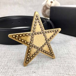 $enCountryForm.capitalKeyWord Australia - G8-2019 Super star design classical style with bronze color buckle leather nice quality fashion luxury 3.8cm belt.