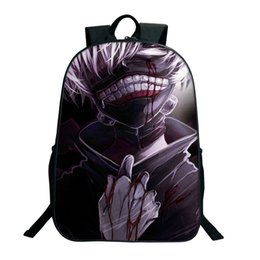 $enCountryForm.capitalKeyWord Australia - Hot Anime Tokyo Ghoul School Bags For Teenage Boy Girls High Quality Oxford Cartoon Backpacks Zipper Travel Bags School Gifts