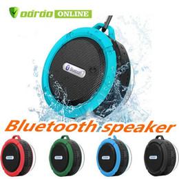 $enCountryForm.capitalKeyWord Australia - C6 Speaker Bluetooth Speaker Mini Potable Wireless Audio Player Waterproof Speaker Hook And Suction Cup Stereo Music Player High Quality