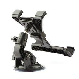 Discount 9.7 inch tablet stand - New 7 8 9 10 inch Tablet Car Holder Universal soporte tablet desktop Windshield Car mount cradle For iPad Stand For Sams