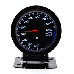 $enCountryForm.capitalKeyWord UK - 2.5 inch 60MM 12V Car Gauge Meter Water Temp Temperature Gauge Black Face With Temp Sensor Car Gauge Meter Without Logo