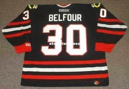 $enCountryForm.capitalKeyWord Australia - custom Mens ED BELFOUR Chicago Blackhawks 1996 CCM Jerseys Alternate Cheap Retro Hockey Jersey