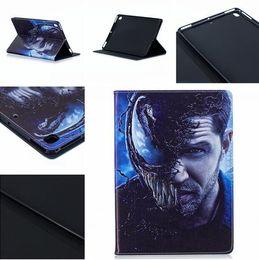 $enCountryForm.capitalKeyWord NZ - Venom Hero Man Cartoon Flip Wallet PU Leather Case Stand Pouch For Ipad Mini 1 2 3 4 5 MINI5 tablet Fashion Soft TPU Skin Cover Luxury 1pcs