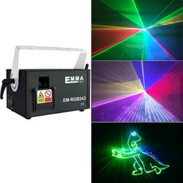 HigH powered dj laser online shopping - New Mini W RGB Full Color Laser Light High Power W RGB Animation Laser Projector Dj Disco Club Stage Christmas Show