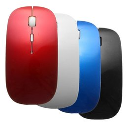 bluetooth mouse for android tablets Australia - 4Color Slim Bluetooth 3.0 Wireless Mouse for Windows PC Laptop Android 3.1 + Tablet New