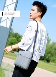 alloy backpack Canada - New men's casual shoulder bag lightweight nylon waterproof Messenger bag outdoor backpack Free shipping and another gift to send!11