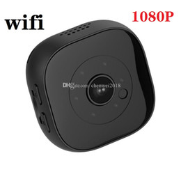 mini dv camera wholesalers UK - 1080p WIFI small mini Camera H9 HD IR Night Vision MINI DV DVR Camcorder Wireless remote monitoring camera for home security