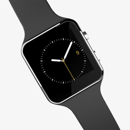 Smart Phone Watch Using Whatsapp Australia - Bluetooth Smart Watch X6 Smartwatch Factory Support Whatsapp Facebook Sim Card Pedometer For iPhone Android Phone