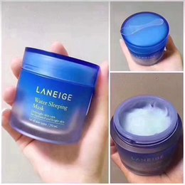 High Quality new package Laneige Special Care Water Sleeping Mask Overnight Skin Care 70ml 1 pcs dropshipping from pilaten set suppliers