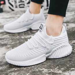 $enCountryForm.capitalKeyWord NZ - 2019 Spring New Pattern Korean Man Casual good Ventilation Male Shoe Student Screen Cloth Sneakers Tide Small White Single good